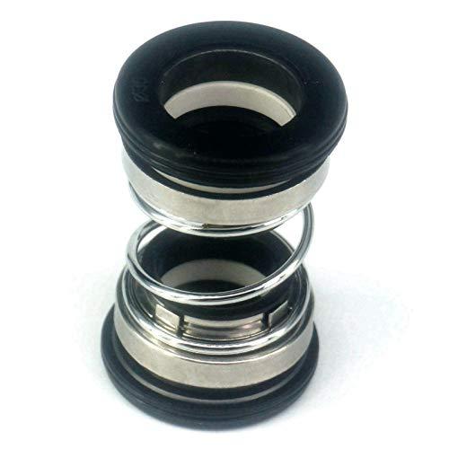 MHXY Dichtungen 20mm Innendurchmesser Wasserpumpe Gleitringdichtung Einzelfahrwerksfeder for Tauchpumpe Element
