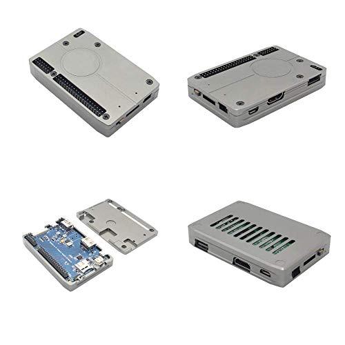 LHQ-HQ DIY-Kit Modul ultradünne Aluminiumlegierung-Kasten gepasst for Raspberry Pi Compute Modul 3 CM3 / CM3L & IO-Board Display-Zubehör