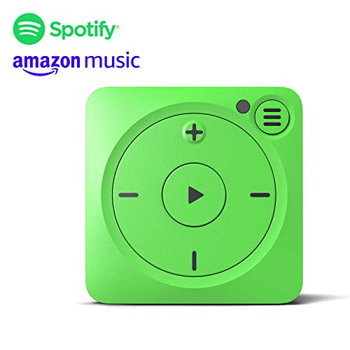 Mighty Vibe Reproductor de música Spotify y Amazon Music - Shamrock Green - Clip Deportivo, para Auriculares Bluetooth y con Cable - Reproductor Streaming MP3 sin Necesidad de tu teléfono