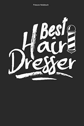 Friseure Notizbuch: 100 Seiten | Kariert | Haarschnitt Team Geschenk Friseursalon Frisuren Haare Schneiden Mannschaft Rasur Rasieren Frisur Schnitt Kamm Ausbildung Haarstyle Barber