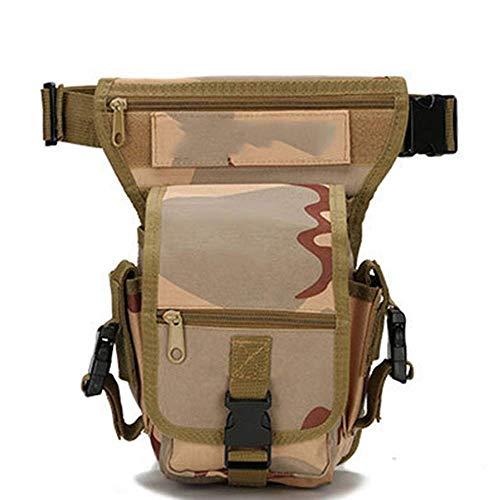 WZLJW Angeltasche Angeltasche Holdall Speicher-Beutel Multifunktionale Outdoor-Sporttasche for Outdoor Carp Meer Angelgerät (Farbe: Jungle Digital, Größe: S) DCZKS