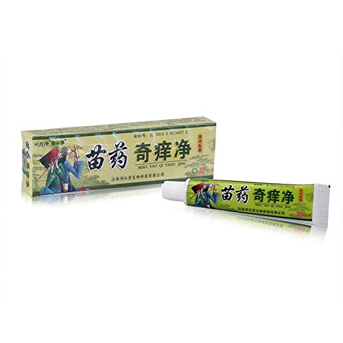 GAESHOW Miao Medicine Herbal Skin Itch Psoriasis Allergy Dermatitis Eczema Cream Chinese Eczema Ointment Itch Cream Itch Cream