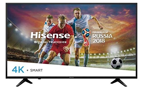 Hisense Television 50' Smart LED TV 4K Ultra HD 2160p 50H6E (Renewed)