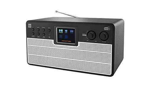 Dual Radiostation IR 100 - Internet - DAB - UKW - Bluetooth - Farbdisplay - AUX - Fernbedienung - Stereoklang