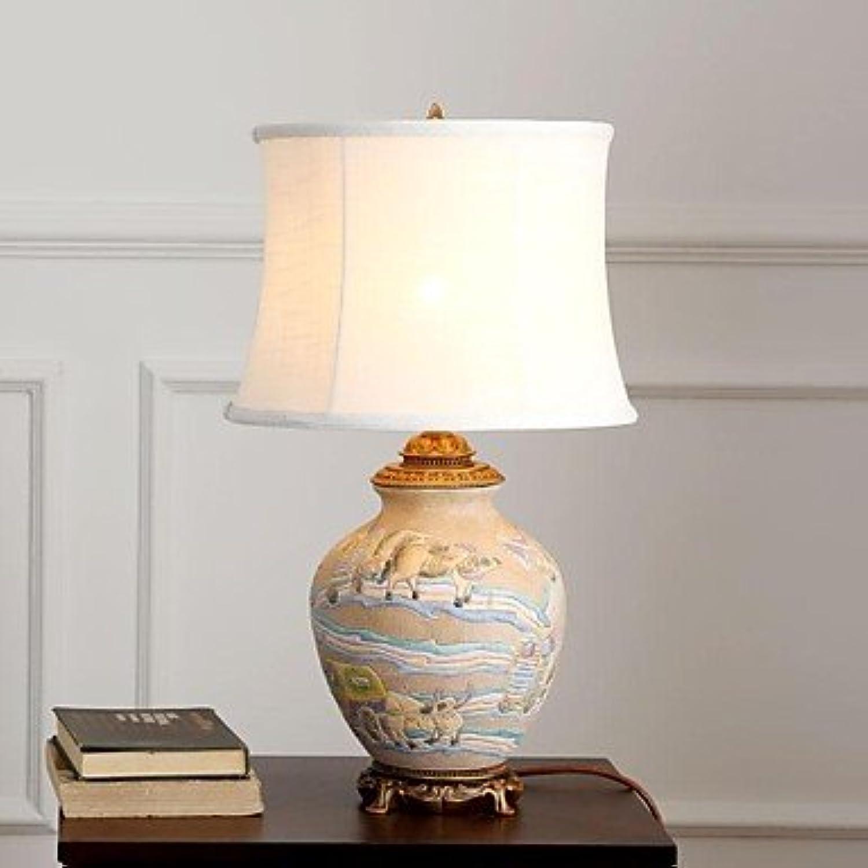 Bobo American Ceramic Tischlampe eine Licht Keramik und Stoff B01424KDMO    Das hochwertigste Material