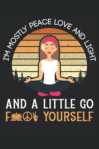 Taccuino: yoga, karma, meditazione, allenamento, asana,: 120 pagine foderate - notebook, bookbook, diario, per fare lista, libro di registrazione, piano, organizza e nota.