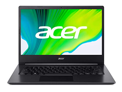 Acer Aspire 3 (A314-22-R0YJ) 35,6 cm (14 Zoll Full-HD matt) Multimedia Laptop (AMD Ryzen 3 3250U, 8 GB RAM, 512 GB PCIe SSD, AMD Radeon Graphics, Win 10 Home) schwarz