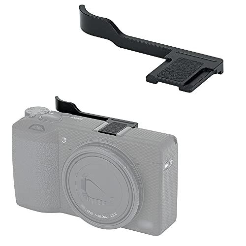 JJC Thumbs Up Grip para cámara Ricoh GR III GR3 (metal)