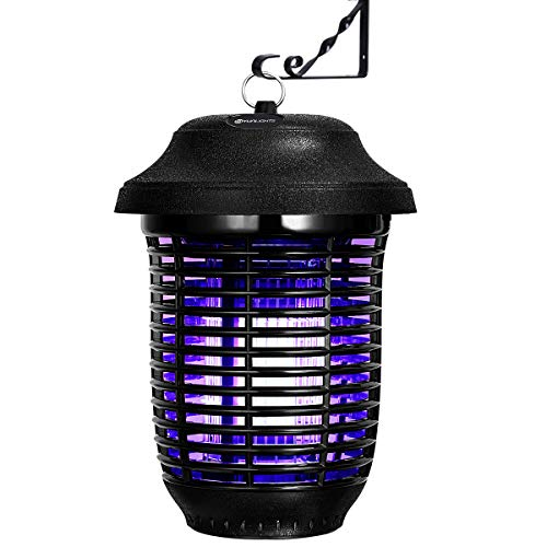 YUNLIGHTS 40W Electronic Bug Zapper - Insects Killer - Mosquito Zapper - Mosquito Lamp - Fly Trap - Insect Killer Zapper - Mosquito Trap - Waterproof Fly Killer with UV Light for Indoor and Outdoor