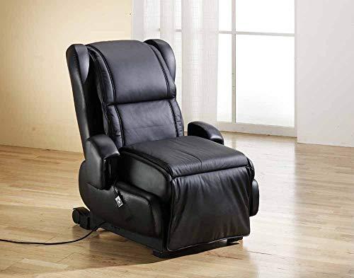 Alpha Techno Combi Relax Massagesessel, schwarz