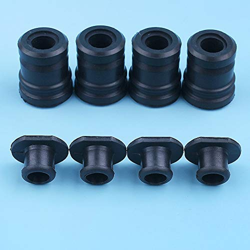Haoyueda 4 Set AV anular Buffer Plug Cap Compatible con STIHL MS180 017 018 MS170 MS 170 180 Chainsaws sustituir parte # 1123 791 7300, 1123 791 2800