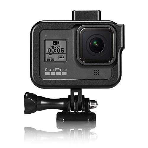 YSTFLY Vlog Aluminum Alloy Case Housing Shell Case CNC Protective Cage for GoPro Hero 8 Black with Cold Shoe Mount (Black) Alabama