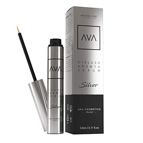 AVA® Qualität aus Deutschland - Wimpernwachstum - Natürliche Wirkstoffe - Wimpern Booster - Wimpernserum & Augenbrauenserum - Vegan & Hormonfrei - 3ml