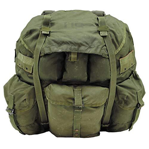 MFH Original US Rucksack Alice Pack Large mit Metallgestell Backpack Daypack Kampfrucksack (Oliv)