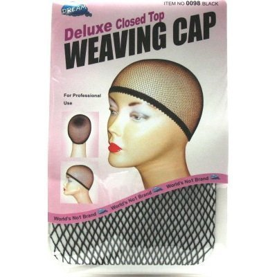 Dream Deluxe Closed Top Weave Cap (Pack of 2) #0098 by Dream