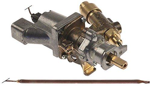 SABAF Gasthermostat für MBM-Italien G4SF6, G6SF6, G6SFA6, Dexion MG066, MG106 für Gasherd, Backofen mit Rohrflansch oben 17/12mm