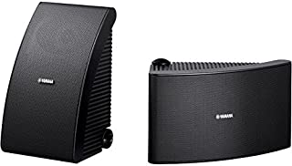"""NSAW992B YAMAHA 8"""" 60W Outdoor Speakers Yamaha Black NSAW992B Two-Way Acoustic Suspension Design, High-Grade Weatherproof Cabinets with Special Processing for Drip, Water and Uv Resistance"""