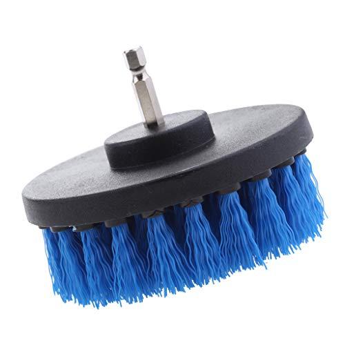Best Review Of Baoblaze 1Pc Tile Grout Drill Brush Power - Blue Medium Brush 4inch