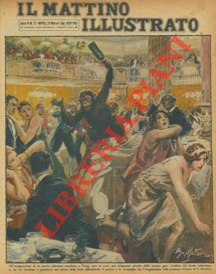 All'inaugurazione di un nuovo ristorante mondano, a Parigi, sere or sono, uno scimpanze, attratto dallo strepito gaio, evadeva dal locale sotterraneo in cui era rinchiuso e penetrava nel salone dell