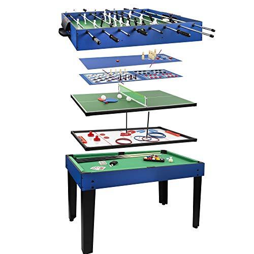 COLORBABY 45596 CB Games 12-in-1-Multi-Spieltisch, 104 x 57.5 x 69 cm