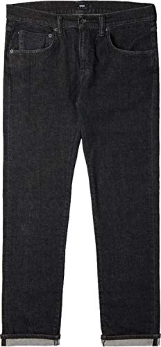 Edwin ED-55 Regular Tapered CS Red Listed Jeans Black