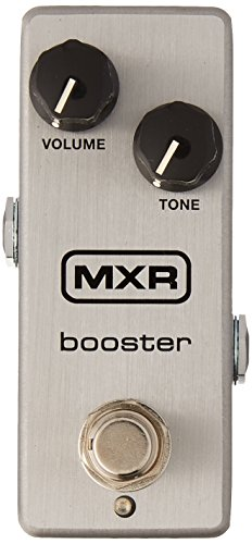 MXR Guitar Distortion Effects Pedal, Silver (M293)