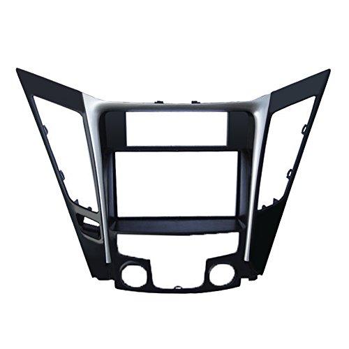 Feeldo Voiture Refitting 2DIN Façade Cadre de radio DVD (Luxry type Conduite à gauche stéréo visage Panneau Tableau de bord d'installation Trim Kit