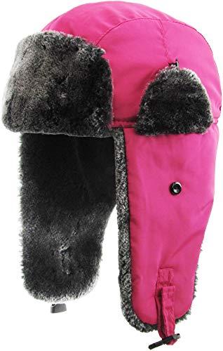 KBW-629 HPK Solid Soft Fur Trapper Winter Hat
