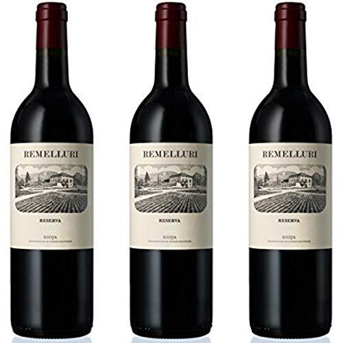 Remelluri Reserva Vino Tinto Reserva - 3 botellas x 750ml - total: 2250 ml