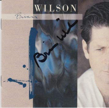Finally resale start Brian Wilson CD signed New Shipping Free Shipping