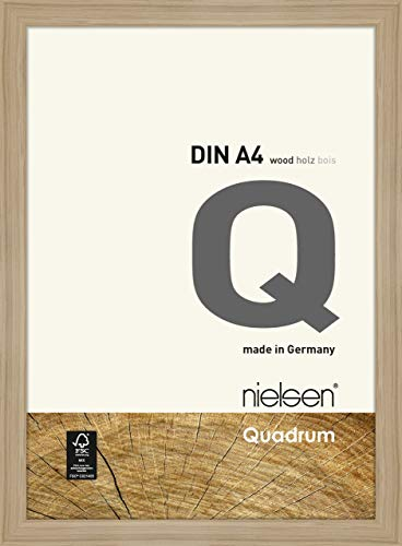 Nielsen Cadre photo carré en bois - 21 x 29,7 cm (A4) - Chêne naturel