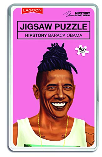 Lagoon Group- Obama Hipstory Jigsaw Barack Puzzle, Colore Nylon/A, 5771