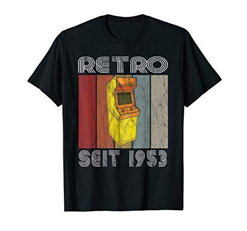Geburtstag 1953 Retro Vintage Gaming Jahrgang 1953 T-Shirt