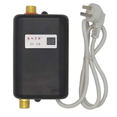 Home Mini Sofortige Elektrische Warmwasserbereiter - Küche Badezimmer Camping Dusche Temperiergeräte Wasserspeicher - 3 Sekunden Heizung - 3.8KW bei 220 V
