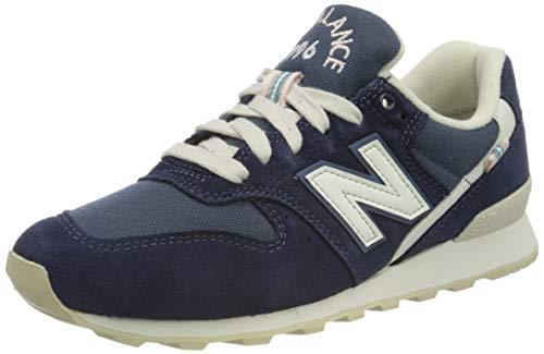New Balance Damen Suede 996 Sneaker, Blau (Navy Ya), 37 EU