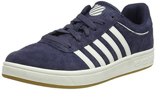 K-Swiss Herren Court CHESWICK SDE Sneaker, Blau (Ombreblu/Snowt/Ltgm 467), 42 EU