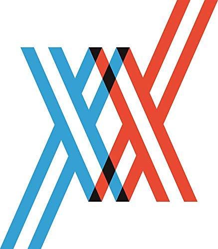 "MAGNET Darling in The FranXX - XX Magnetic Car Sticker Decal Refrigerator Metal Magnet Vinyl 5"""