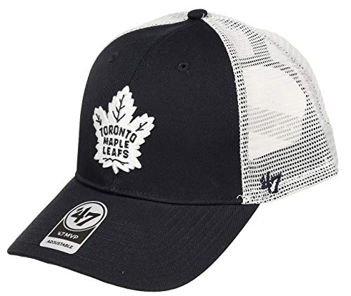 47 Brand Adjustable Cap - Branson Toronto Maple Leafs Navy