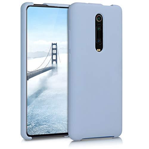 kwmobile Funda Compatible con Xiaomi Mi 9T (Pro) / Redmi K20 (Pro) - Funda Carcasa de TPU para móvil - Cover Trasero en Azul Claro Mate
