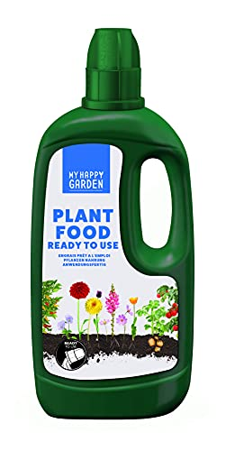 My Happy Garden LIQUID FOOD 1L (Ready To Use, Plant Fertiliser, Child & Pet...