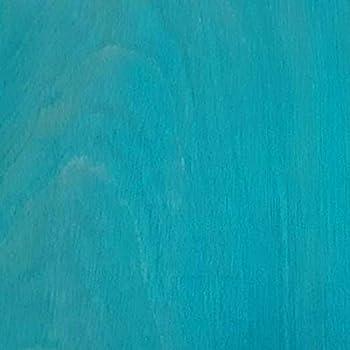 PureColor Eco-Friendly Wood Stain Interior & Exterior EvenGrain Stain Non-Toxic Stain 1 Quart Santa Fe Turquoise