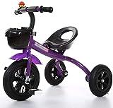 Bicicleta Niño de los niños del Triciclo Triciclo 3 Diseño Inteligente Wheeler niños Bici de la Bicicleta Niños Niñas Carro de bebé