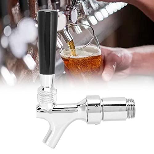 XINL Beer Faucet, Clean y Beer Grifo de Torre de Acero Inoxidable para Pubs para restaurantes para Bares