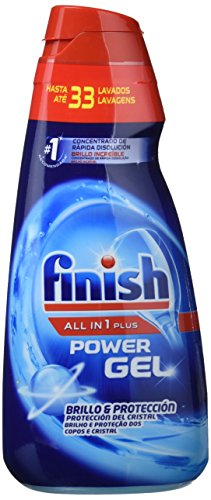 Finish All In 1 Max Detergente Gel