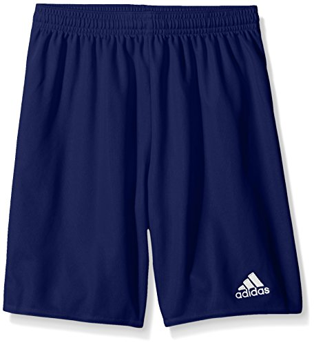 adidas Youth Parma 16 Shorts, Unisex-Erwachsene, Shorts, Parma 16 Youth Shorts, Dunkelblau/Weiß, XX-Small