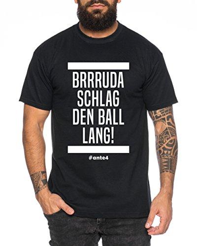 Ante Herren T-Shirt Frankfurt Pokalsieger 2018 Prince, Farbe:Schwarz;Größe:M