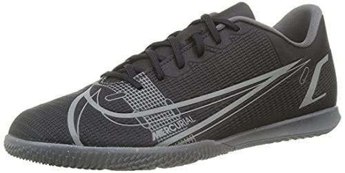 Nike VAPOR 14 CLUB IC, Scarpe da calcio Unisex - Adulto, Nero (black-iron grey), 44 EU