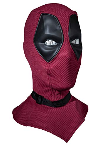 CosFantasy New Wade Wilson Cosplay Mask Wine Red Color mp005187~