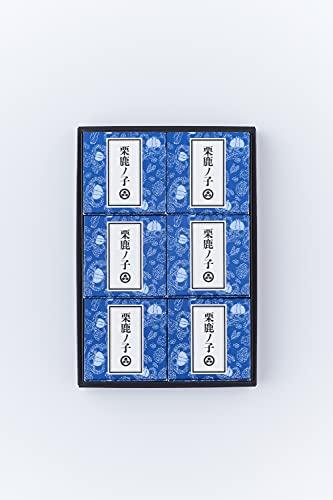 小布施堂 栗鹿ノ子ミニ 6個入(80g×6)