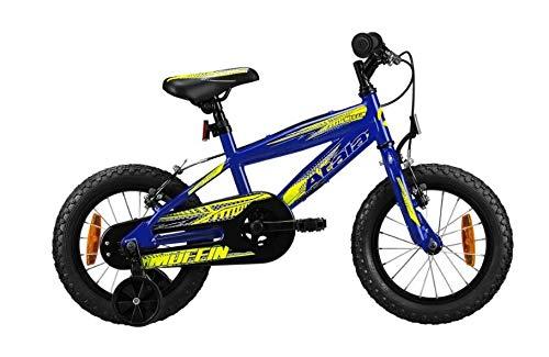Atala Bicicletta da Bambino Modello 2020, Muffin 14', Colore Blu - Giallo